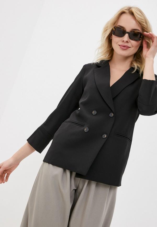 женский пиджак dunia, черный