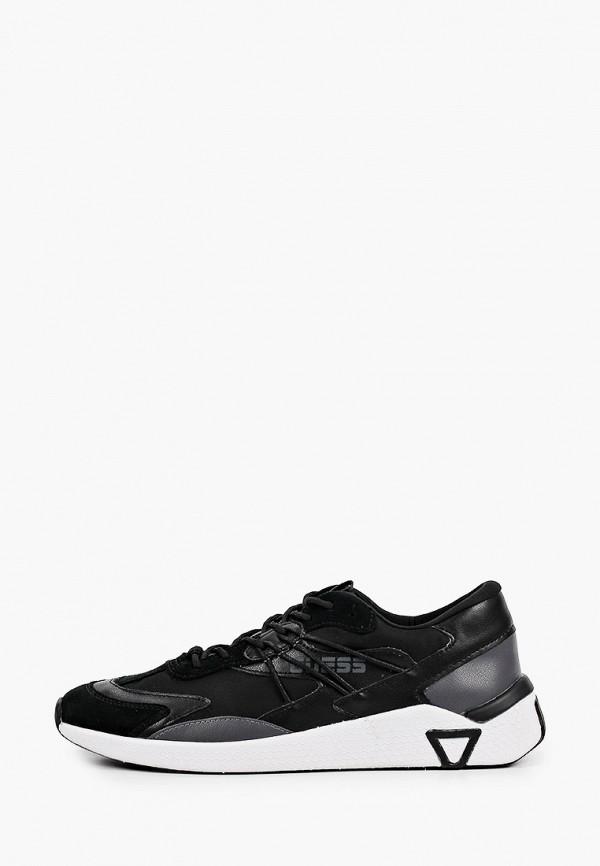 мужские кроссовки guess, черные