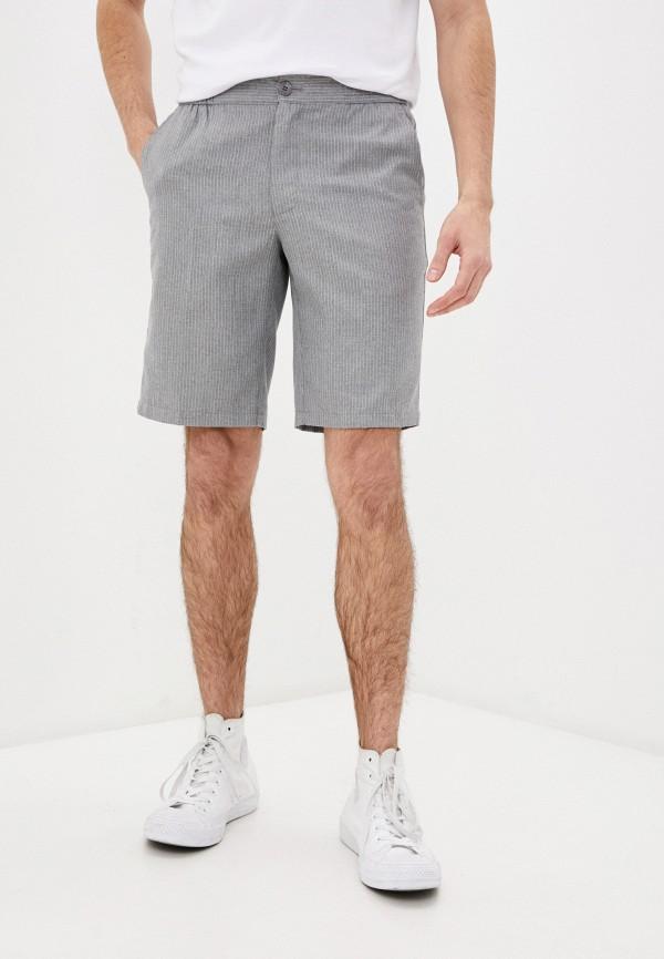 мужские повседневные шорты casual friday by blend, серые
