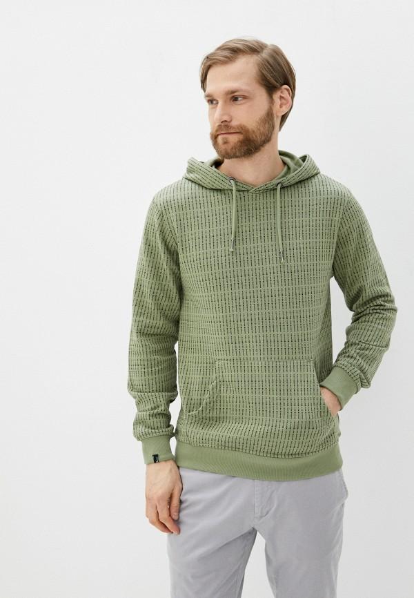 мужские худи blend, зеленые