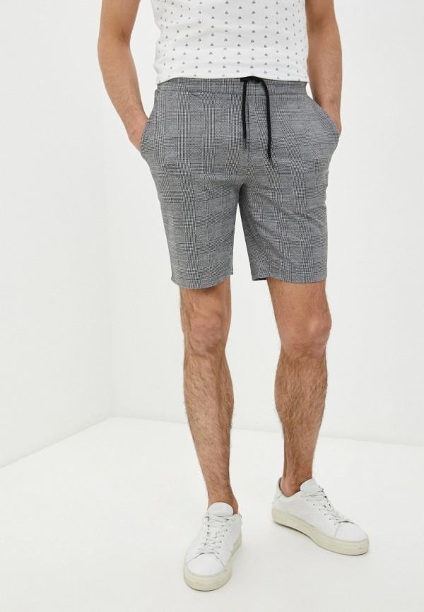 мужские повседневные шорты blend, серые