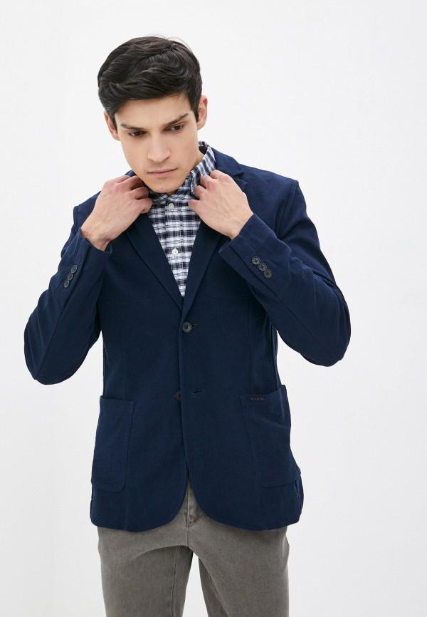 мужской пиджак guess, синий