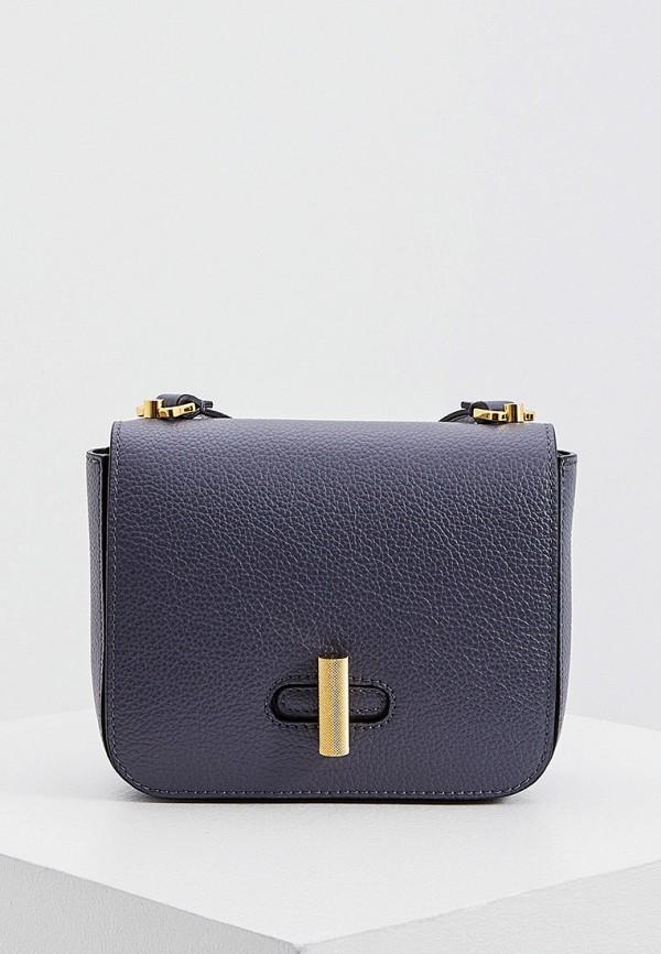 женская сумка coccinelle, серая