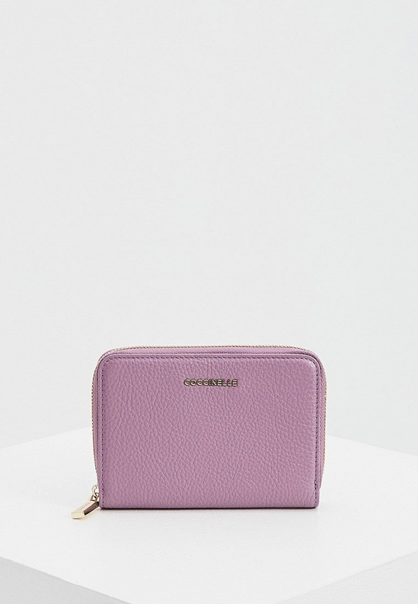 женский кошелёк coccinelle, фиолетовый