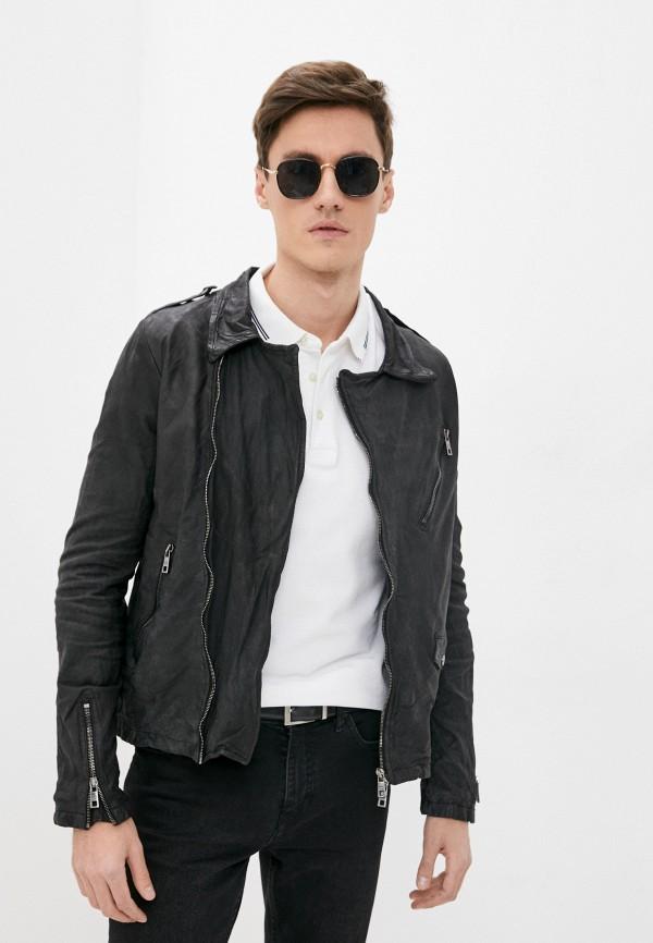 мужская куртка giorgio brato, черная