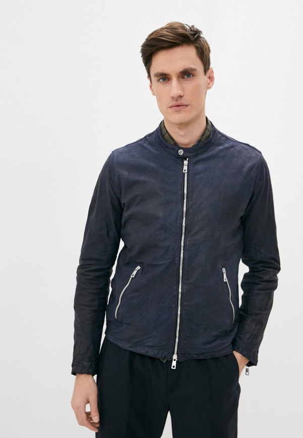 мужская куртка giorgio brato, синяя