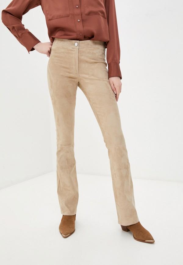женские брюки arma, бежевые