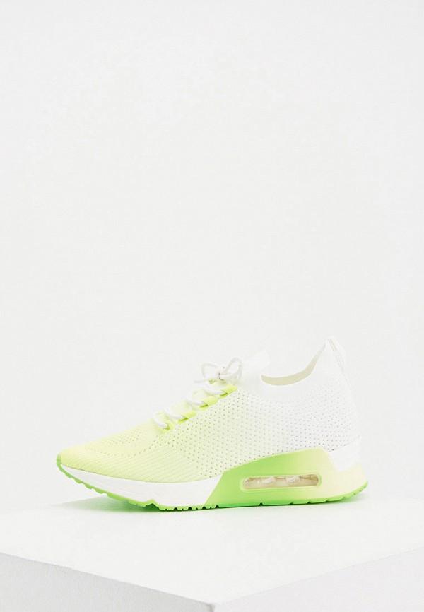 женские низкие кроссовки dkny, зеленые
