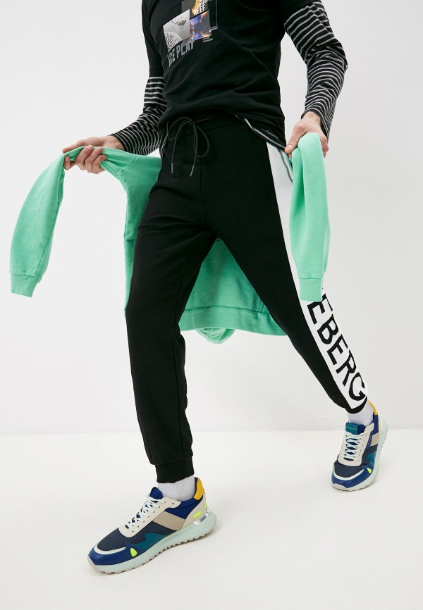 мужские спортивные брюки iceberg, черные
