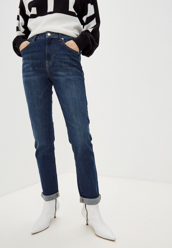 женские джинсы iceberg, синие