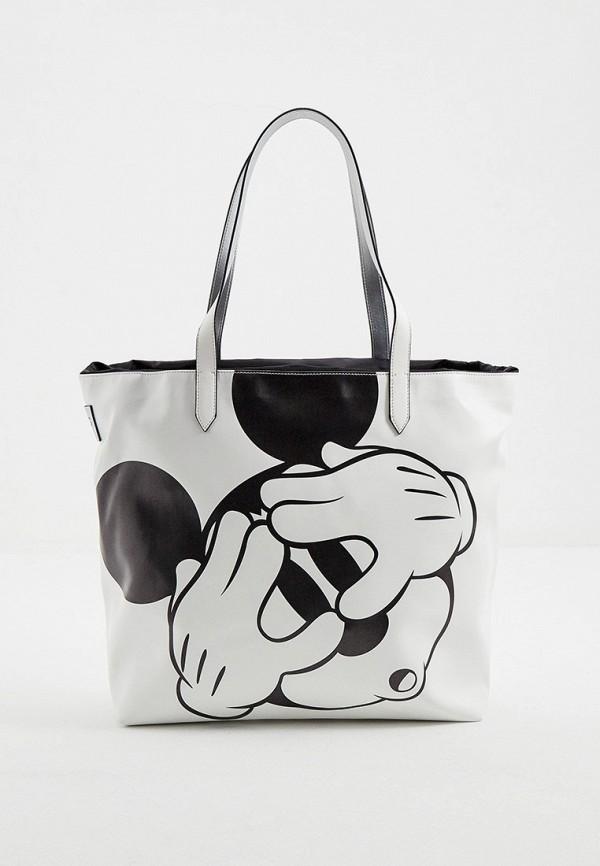 женская сумка-шоперы iceberg, бежевая