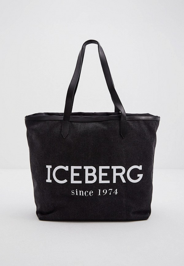 женская сумка iceberg, серая