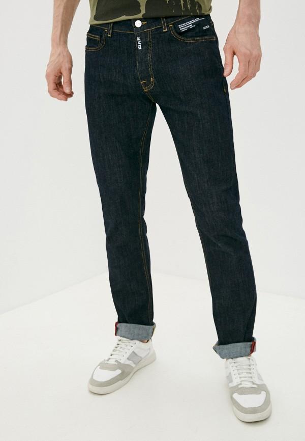 мужские прямые джинсы ice play, синие