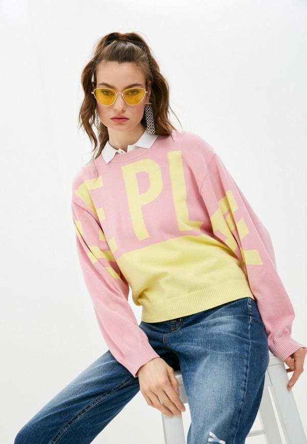 женский джемпер ice play, розовый