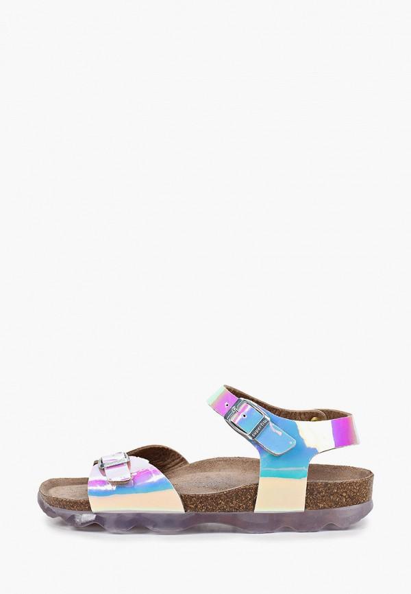 сандалии superfit для девочки, разноцветные
