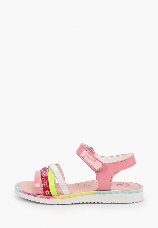 сандалии pablosky для девочки, разноцветные