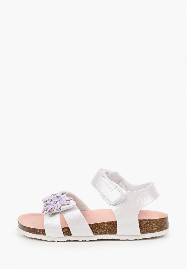 сандалии pablosky для девочки, серебряные