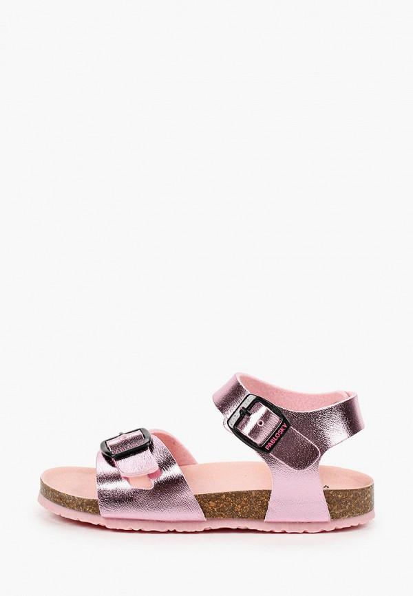 сандалии pablosky для девочки, розовые