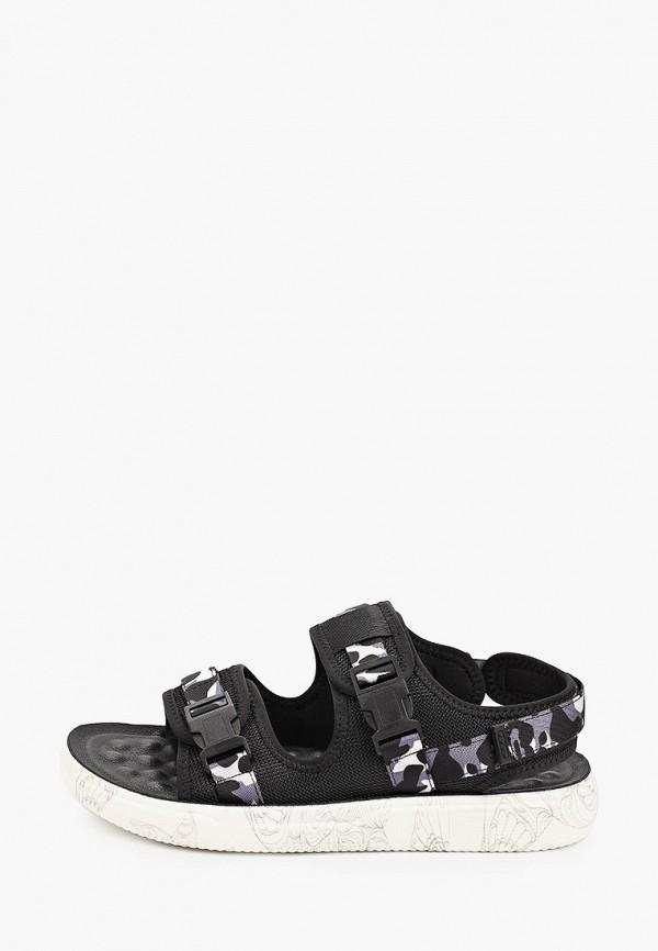 мужские сандалии el tempo, черные