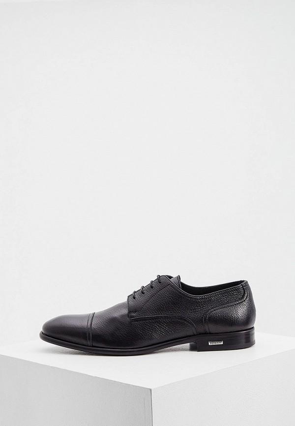 мужские туфли baldinini, черные