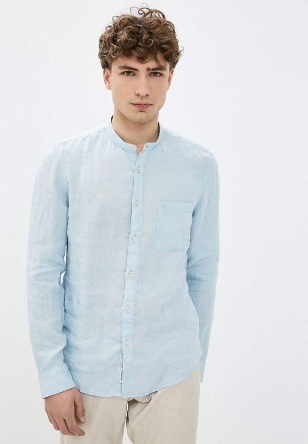 мужская рубашка marc o'polo, голубая