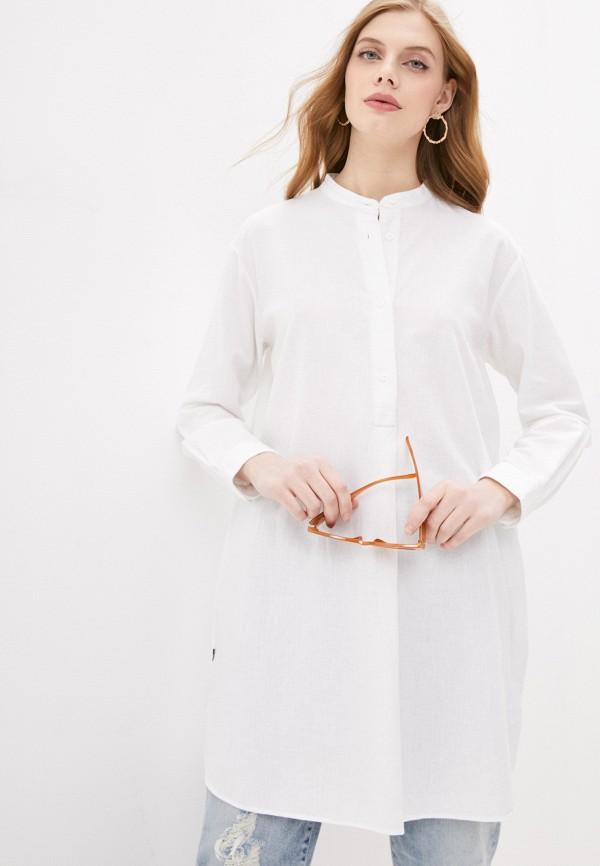 женская блузка woolrich, белая
