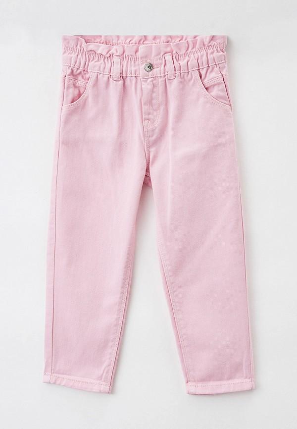 брюки ovs для девочки, розовые