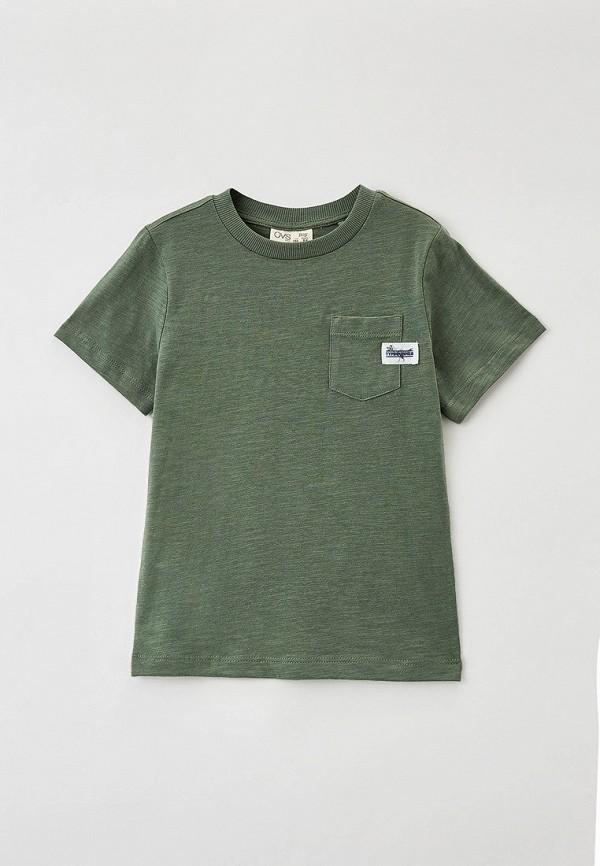 футболка с коротким рукавом ovs для мальчика, хаки