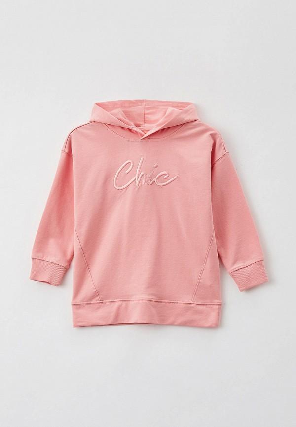 худи ovs для девочки, розовые