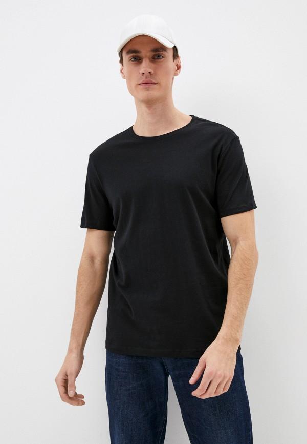 мужская футболка ovs, черная