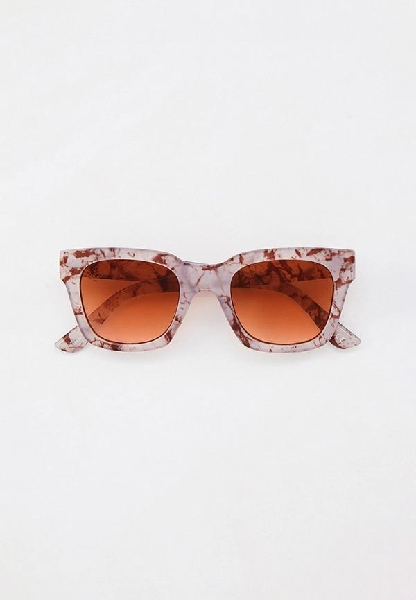 женские квадратные солнцезащитные очки jeepers peepers, серые