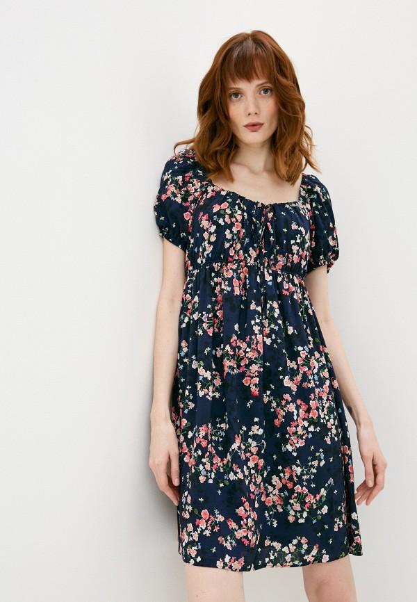 женское повседневные платье pietro brunelli milano, синее