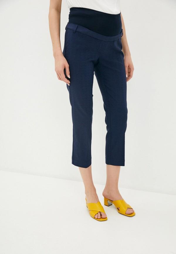 женские брюки pietro brunelli maternity, синие