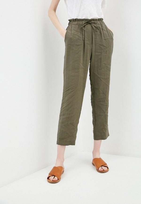 женские брюки pietro brunelli milano, хаки