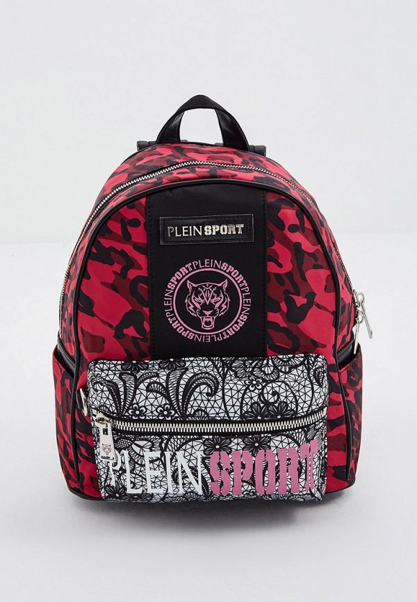 женский рюкзак plein sport, розовый
