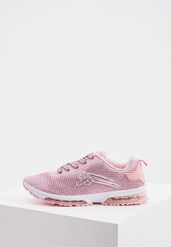женские низкие кроссовки plein sport, розовые