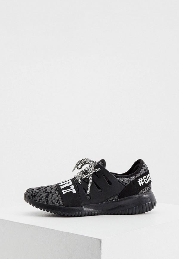 женские низкие кроссовки plein sport, серые