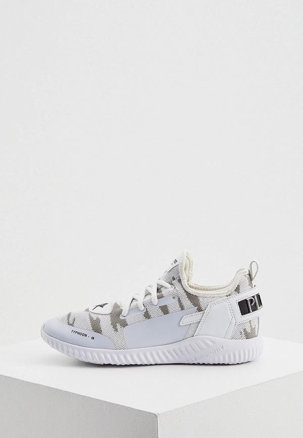 женские низкие кроссовки plein sport, белые