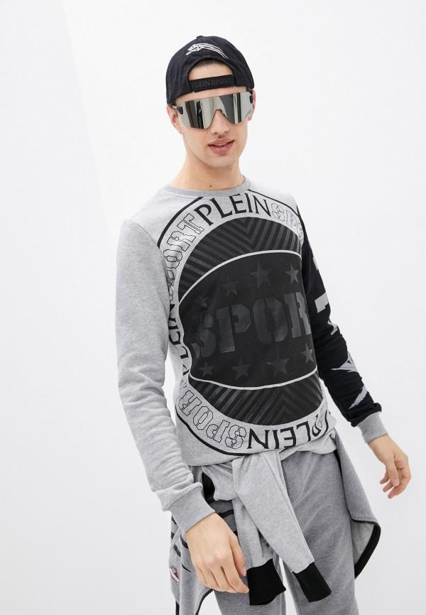 мужской свитшот plein sport, серый