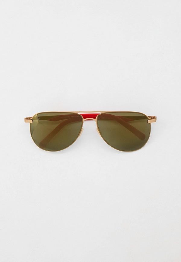 женские солнцезащитные очки plein sport, красные
