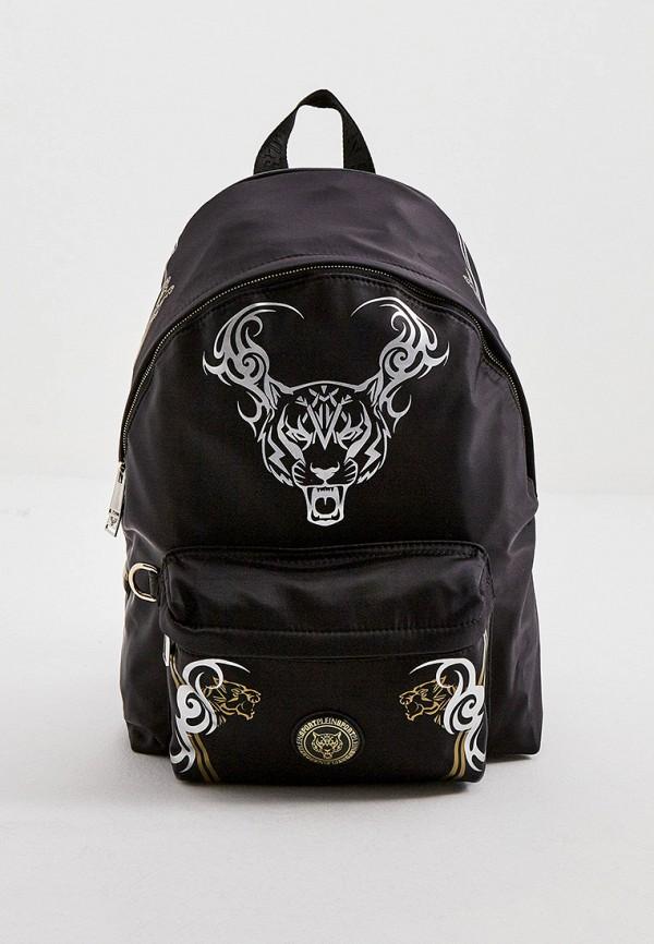 женский рюкзак plein sport, черный