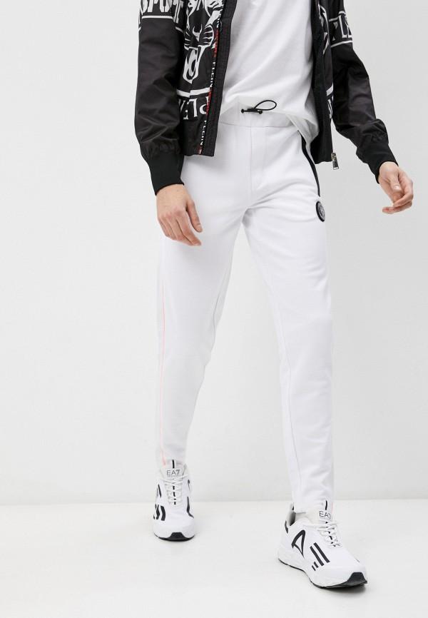 мужские спортивные брюки plein sport, белые
