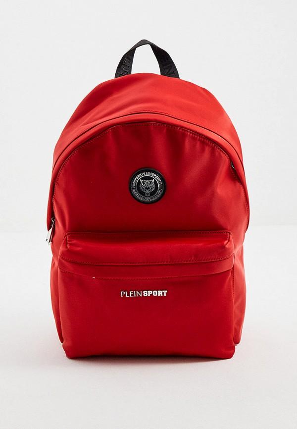 мужской рюкзак plein sport, красный