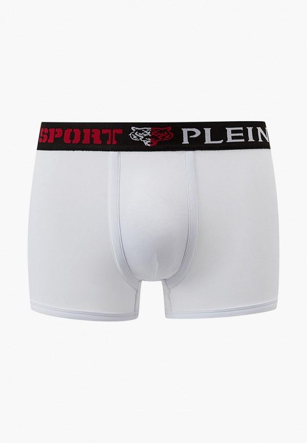 мужские трусы-боксеры plein sport, белые