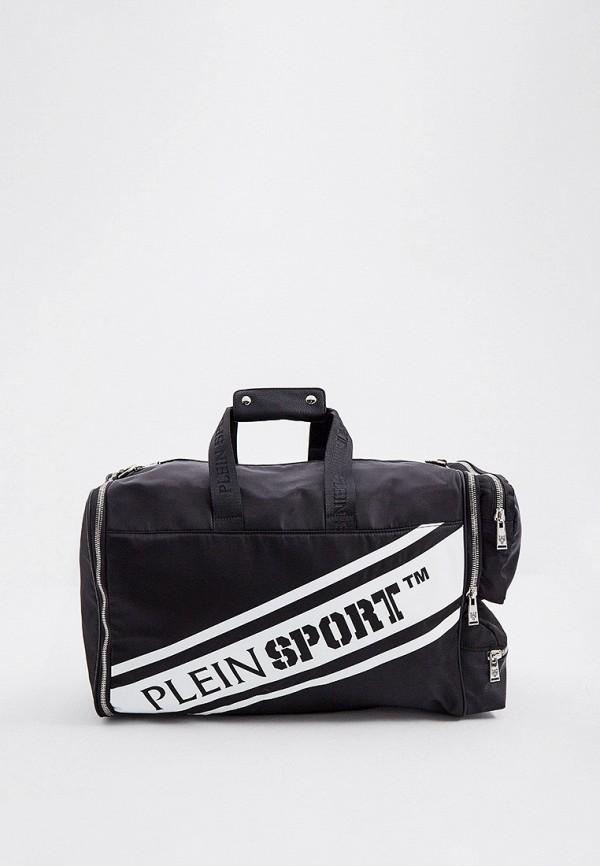 мужская спортивные сумка plein sport, черная