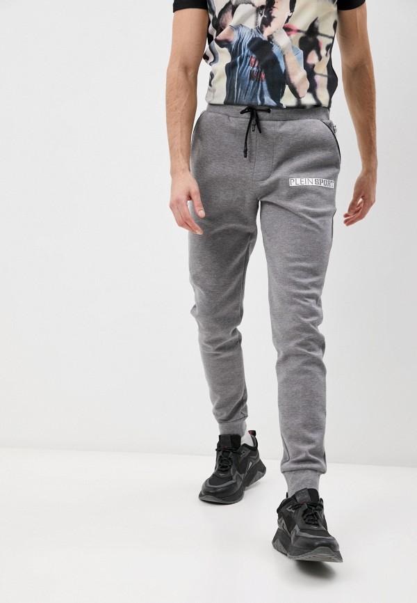 мужские спортивные брюки plein sport, серые