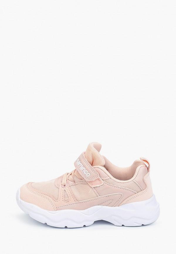 кроссовки flamingo для девочки, розовые