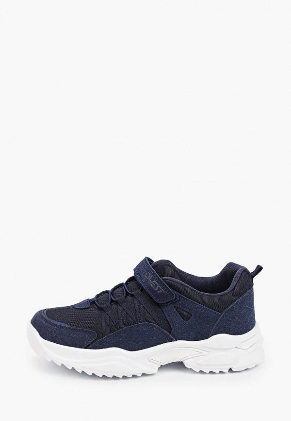кроссовки qwest для мальчика, синие