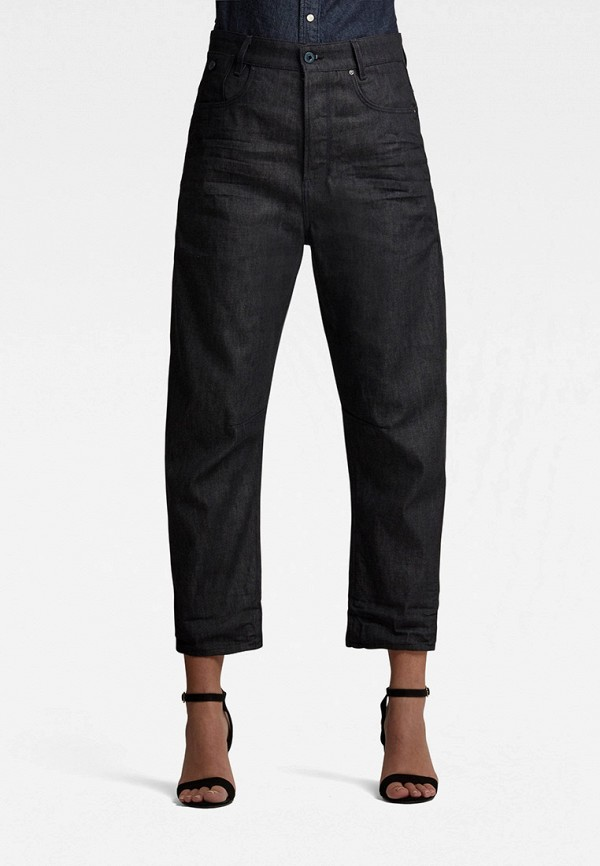 женские джинсы бойфренд g-star raw, черные