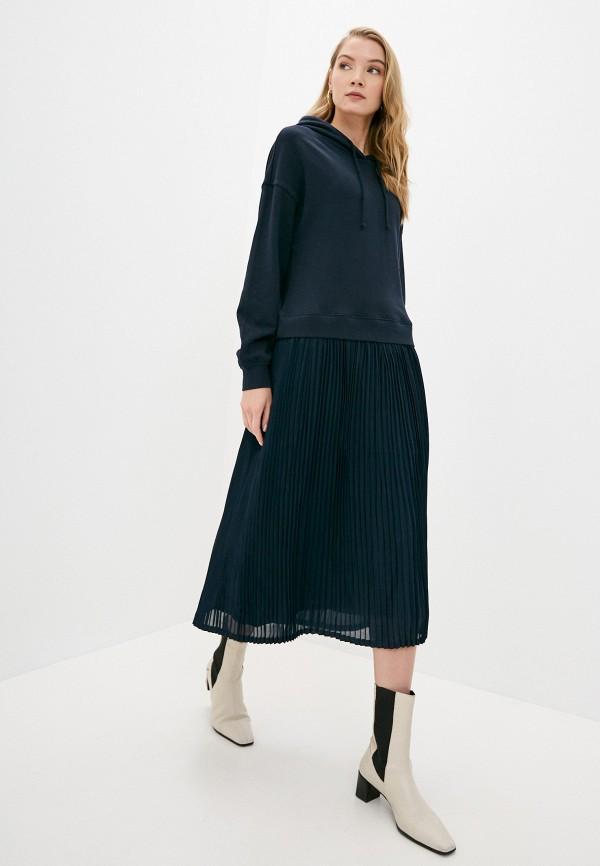 женское платье marc o'polo denim, синее